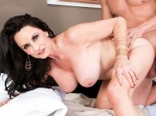 Rita shags her son's big-dicked friend