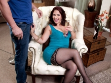 Sabrina Speaks The Language Of Larger than typical Cock