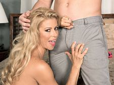 Alexis Fawx and the luckiest stud in the universe