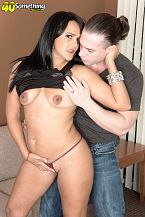 Puerto Rican MILF's 1st time