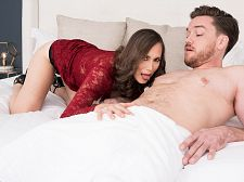 Lilly Shags Her Son's Big-dicked Friend